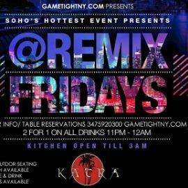 Image for Katra Lounge NYC Hip Hop vs Reggae® Remix Fridays
