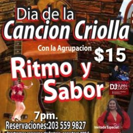 """Image for DIA DE LA CANCION CRIOLLA CON LA AGRUPACION """" RITMO Y SABOR """" BRIDGEPORT CONNECTICUT"""