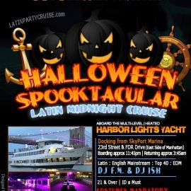 Image for October 29th - Halloween Spooktacular Latin Midnight Cruise