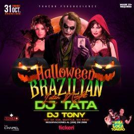 Image for Brazilian Halloween Latin Night