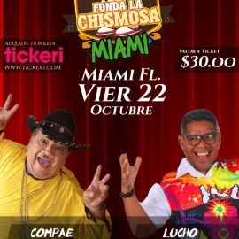 """Image for MANO A MANO, NOCHE DE RUMBA Y HUMOR """" COMPAE LENCHO VS LUCHO TORRES """" EN VIVO ! MIAMI FLORIDA"""