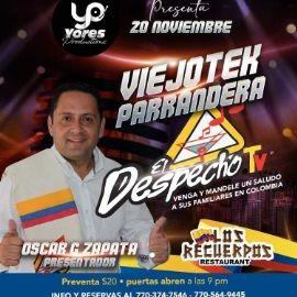 Image for VIEJOTEK PARRANDERA CON EL DESPECHO TV