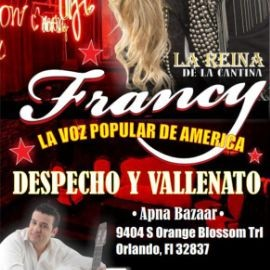 Image for FRANCY LA VOZ POPULAR DE AMERICA EN ORLANDO