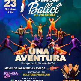 """Image for SALSA BALLET DE COLOMBIA  : """" UNA AVENTURA """" UN ESPECTACULO NUNCA ANTES VISTO, CHANEY """" EL CONJUNTO DEL AMOR  ! TAMPA FLORIDA"""