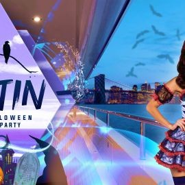 Image for Latin Halloween Party Cruise NYC: Friday on the Mega Yacht