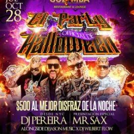 Image for Halloween party con dj pereira y mr sax