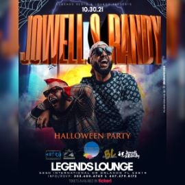 """Image for JOWELL & RANDY Performing Live! """"HALLOWEEN PARTY"""" ORLANDO FL."""