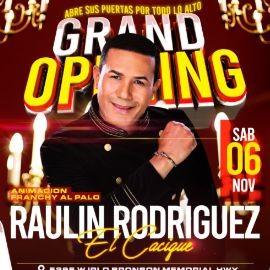 Image for RAULIN RODRIGEZ EL CACIQUE EN CONCIERTO ! KISSIMMEE FL.