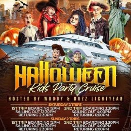 Image for Halloween Kids Party Cruise (3:30pm-6:00pm)
