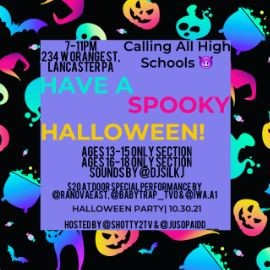 Image for Calling All High Schools Halloween Party