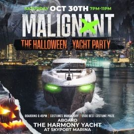 Image for Malignant The Halloween Yacht Party At Harmony Yacht