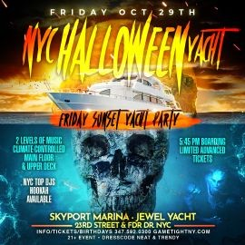 Image for NYC Halloween Yacht Party At Jewel Yacht
