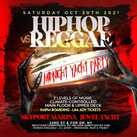 Image for Halloween Hip Hop Vs Reggae Midnight Cruise At Jewel Yacht