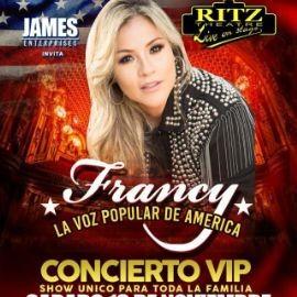 """Image for FRANCY """" LA VOZ POPULAR DE AMERICA """" EN VIVO ! ELIZABETH NEW JERSEY"""