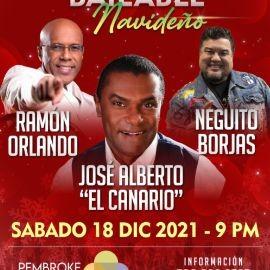 Image for NEGUITO BORJAS - Gaita + JOSÉ ALBERTO EL CANARIO - Salsa + RAMÓN ORLANDO - Merengue, BAILABLE NAVIDEÑO - MIAMI