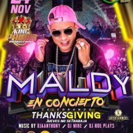Image for MALDY EN CONCIERTO! THANKSGIVING PARTY - HOUSTON TEXAS