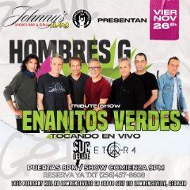 Image for HOMBRES G vs ENANITOS VERDES!! EL TRIBUTO