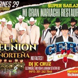 Image for LA REUNION NORTEÑA, GERU Y SU LEGION 7 EN VIVO ! GLENNDALE MARYLAND