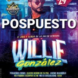 Image for WILLIE GONZALEZ en Parceros Night Club *** POSPUESTO***