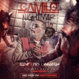 Image for Camilo's Nightmare Halloween Party At Alpha Astoria