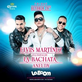 Image for ELVIS MARTINEZ, EL CHAVAL DE LA BACHATA, ANEUDY EN VIVO ! QUEENS NEW YORK