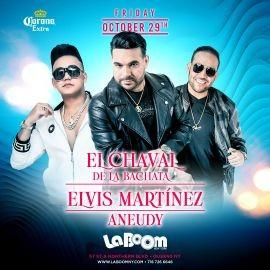 Image for ELVIS MARTINEZ | EL CHAVAL DE LA BACHATA | Live at La Boom Oct 29th ! QUEENS NY.