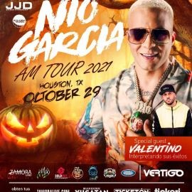 Image for NIO GARCIA - AM TOUR 2021 - VALENTINO - HOUSTON TEXAS
