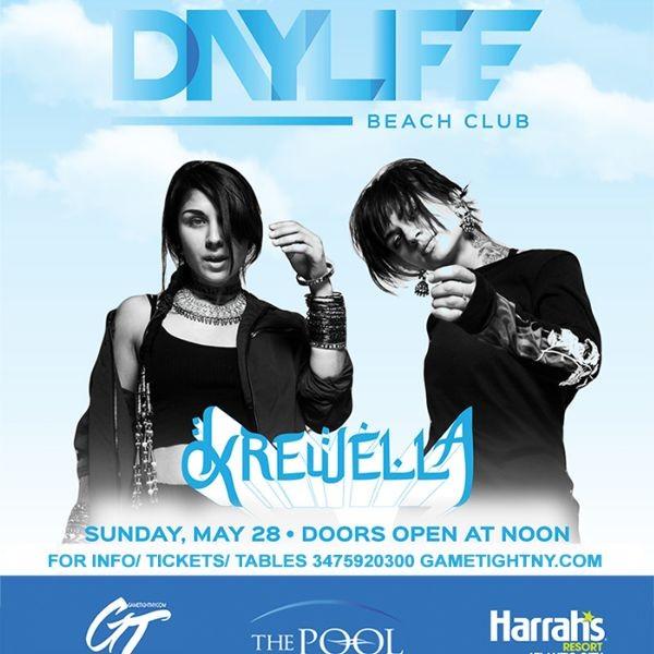 Daylife Beach Club Memorial Day Weekend Krewella Live 2017