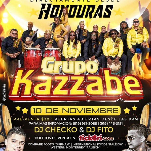 Grupo Kazzabe Directamente desde HONDURAS | Tickeri
