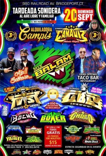 Tardeada Sonidera con Mix Balam Guerrero y mas!