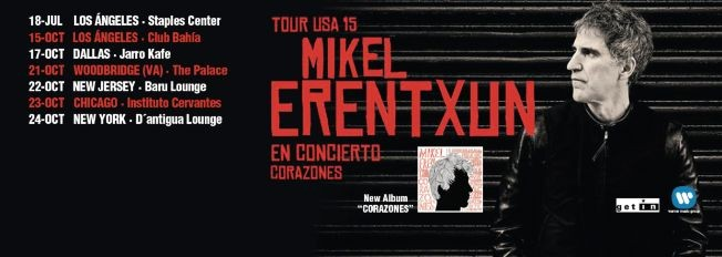 Flyer for Mikel Erentxun en Chicago