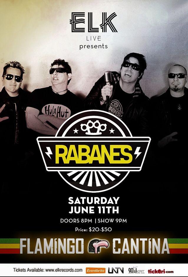 Flyer for Los Rabanes en Austin, TX