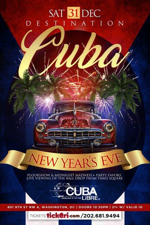 Destination Cuba, New Years Eve 2017 | Tickeri - concert ...