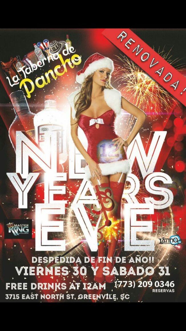 New Years Eve en Greenville,SC | Tickeri - concert tickets, latin tickets, latino tickets, music ...