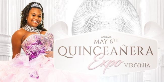 Flyer for Quinceañera Expo & Fashion Show - Virginia