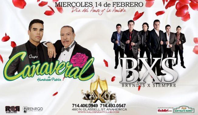 Flyer for Grupo Cañaveral Y Bryndis X Siempre