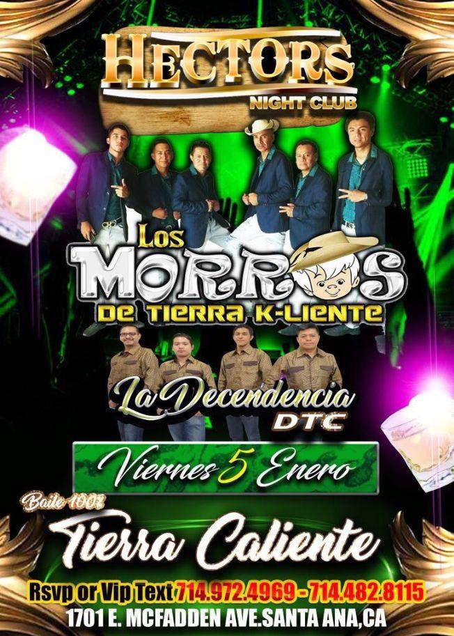 Flyer for VIERNES DE TIERRA CALIENTE!