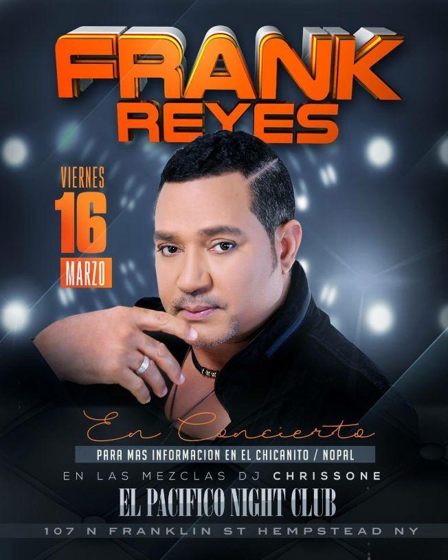 Flyer for Frank Reyes en Hempstead,NY