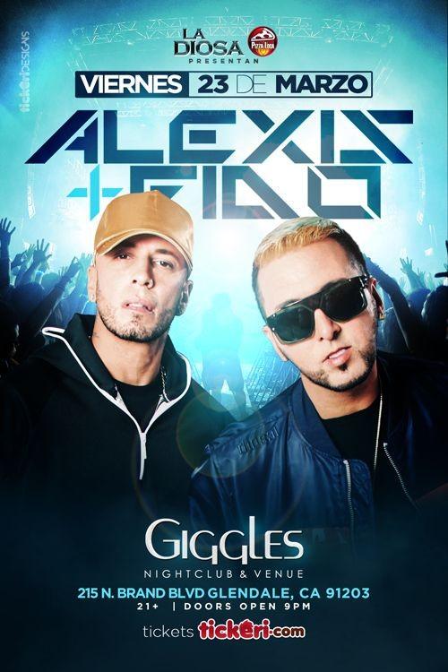 Flyer for ALEXIS Y FIDO EN LOS ANGELES