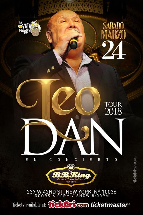 Flyer for Leo Dan