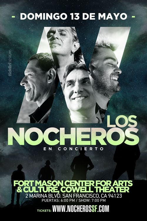 Flyer for Los Nocheros en San Francisco,CA