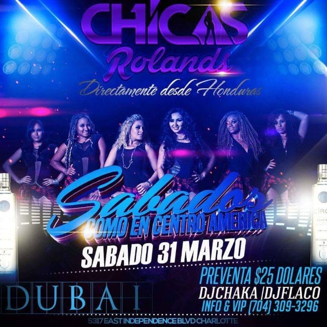 Flyer for Chicas Rolands