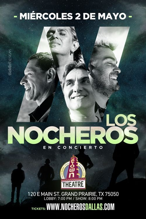 Flyer for Nocheros en Dallas,TX