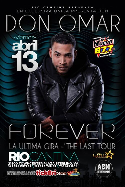 Flyer for Don Omar