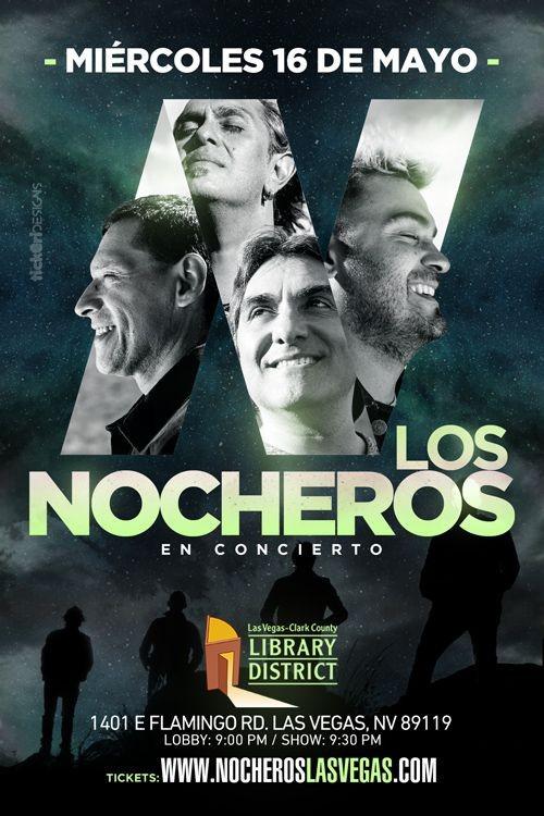Flyer for Los Nocheros en Las Vegas