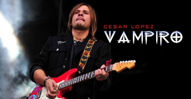 Flyer for EL VAMPIRO EN NJ