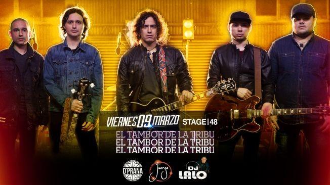 Flyer for El Tambor de la Tribu en STAGE48