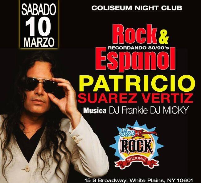Flyer for PATRICIO SUAREZ-VERTIZ