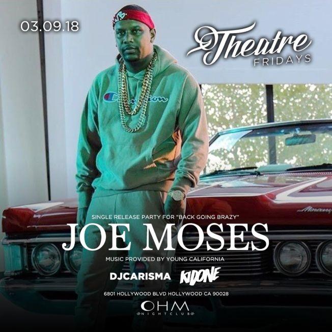 Flyer for Joe Moses Ohm Nightclub