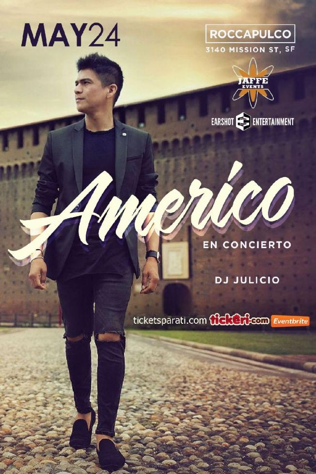 Flyer for Americo en San Francisco,CA